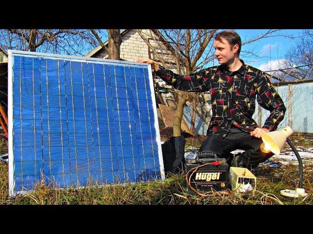 ✅Солнечная электростанция своими руками 💡Подробная инструкция сборки, альтернативная энергетика » Freewka.com - Смотреть онлайн в хорощем качестве