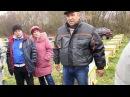 На пасеке Василия Ничика Бакфаст Пчеловодство в ульях из КАМЫША