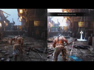 For Honor E3 2016 Сравнение Demo vs Retail PS4