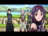 Sword Art Online ll - Асуна сражается с Юки (ALO.)