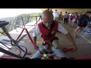 Bloukrans Bungy Jump 2015 Go Pro 4 HD Face Adrenalin South Africa