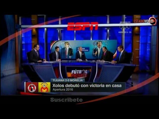 Fútbol Picante Análisis Viernes 15 de Julio 2016 - Vergara e Higuera, Xolos vs Morelia 2-0, 10/8