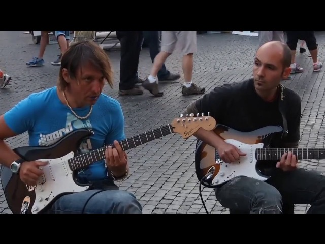Amazing Sultans of Swing Street Performance