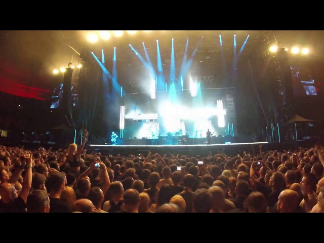 Rammstein Stripped Depeche Mode Cover Wrocław Capital of Rock 27 08 2016 GOpRO4 Session