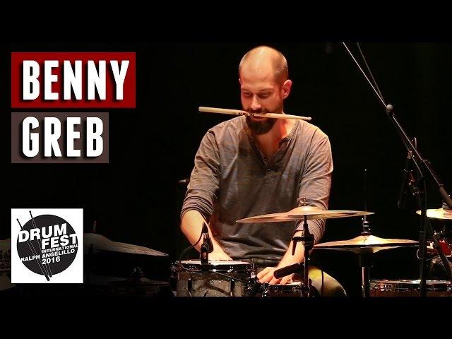 Benny Greb - 2016 Drum Festival International Ralph Angelillo