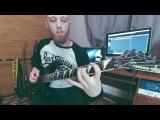 Dark Metal Guitar Solo by Denis Petrov (Jeff Loomis, Wes Hauch, Keith Merrow-style) Overloud TH-2