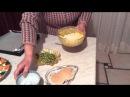 Antipasto di polpette con ricotta e zucchine