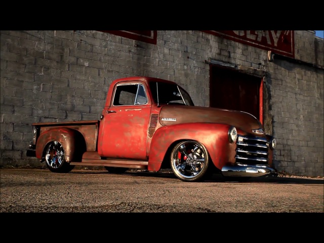 Crawdaddy Pro Touring Patina Slammed Hot Rat RestoMod Muscle Truck FOR SALE!