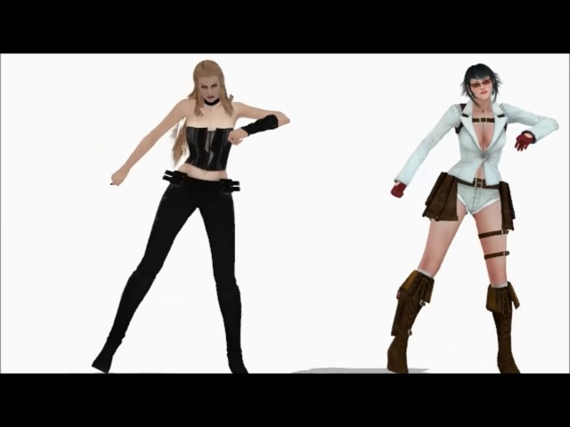 【Devil May Cry 4 MMD】 GLIDE 【Trish Lady】