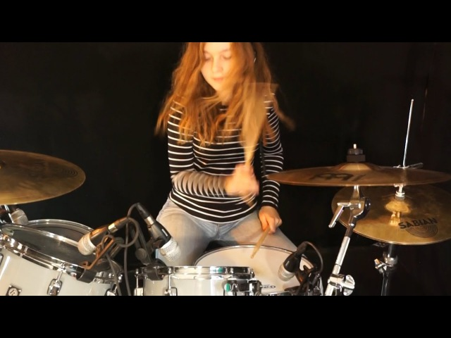 Light My Fire (The Doors) drum cover by Sina