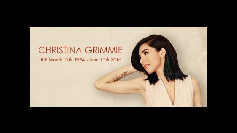 † RIP   Christina Grimmie