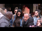 EXCLUSIVE Kendall Jenner and Bella Hadid go to Avenue restaurant in Paris