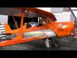 Биплан  Учебно-тренировочные полеты 21 02 2014