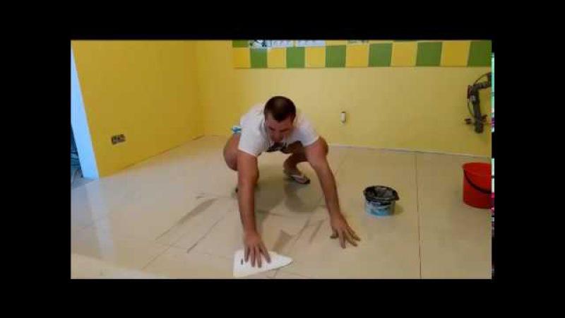 Лучший в мире способ затирка швов плитки на полу
