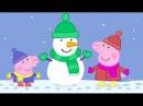 Свинка Пеппа на русском все серии подряд около 50 минут #1   Peppa Pig Russian episodes 50 minutes