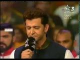 Hrithik Roshan Singing National Anthem - Pro Kabaddi season 4 Final 2016