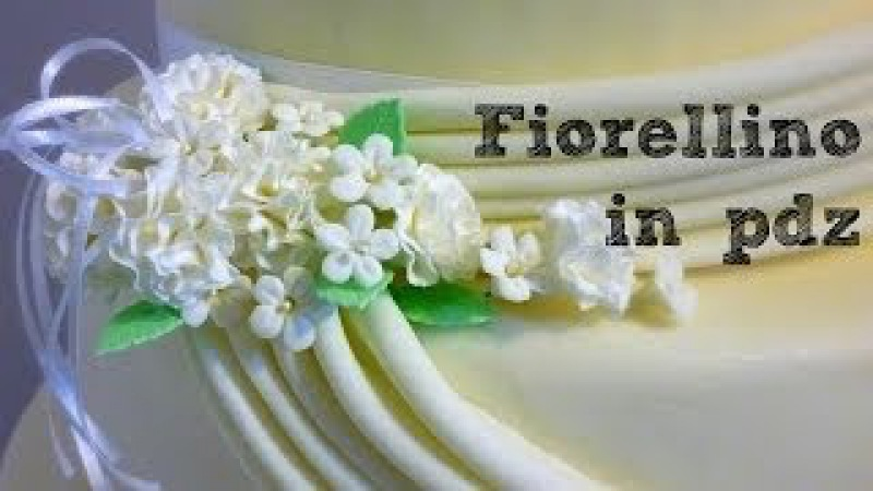 Fiore in pasta di zucchero (sugar paste blossom) by ItalianCakes