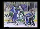 Basil McRae vs Paul MacDermid Quebec Hartford Brawl NHL 1987