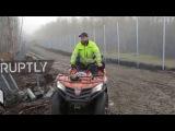 Норвегия Забор возведен на русско-норвежской границы, чтобы остановить сирийских беженцев