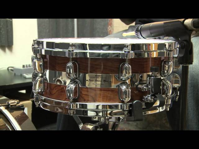 Tama Brian Frasier-Moore Signature Snare Drum Demo