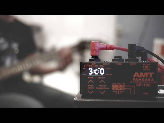 AMT CP-100 PANGAEA Demo - Metal