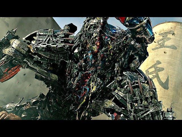 Оптимус Прайм против Локдауна. Optimus Prime versus Lockdown. Трансформеры: Эпоха истребления.