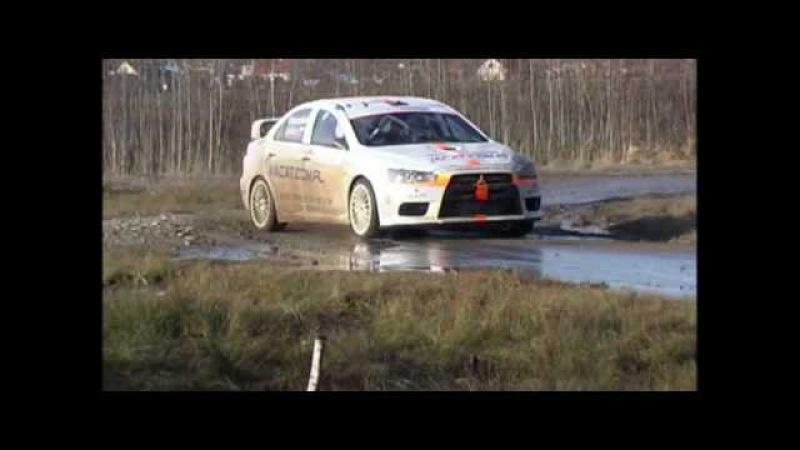 Rafał Grzesiński Test Mitsubishi Lancer EVO X z Dytko Sport 27.02.2010