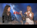 Mandy Moore Claire Holt Answer Rapid Fire Questions E Live from the Red Carpet