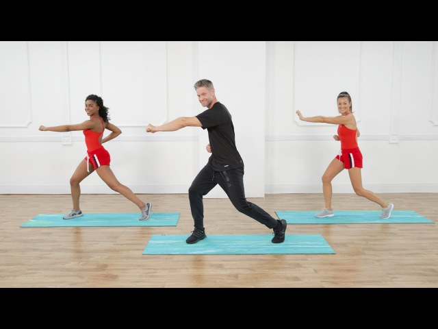 15-Minute Baywatch Core-and-Balance Workout