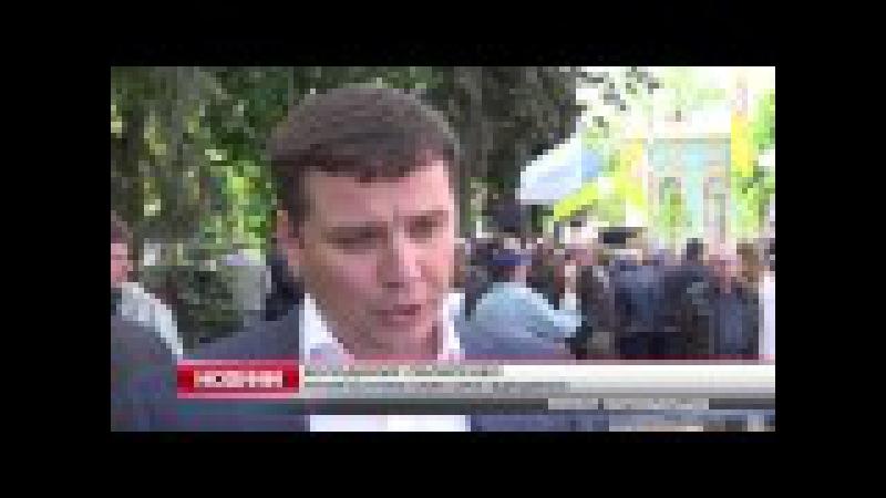 Під стінами Верховної Ради мітингували чорнобильці