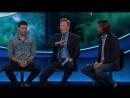 Джаред и Дженсен на ток-шоу Конана ОБрайена отрывок 3 SDCC 2017