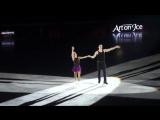HD Art on Ice 2017 Lausanne  Savchenko   Massot skate to Chaka Khan singing  Aint Nobody