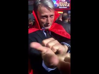 Doctor Strange film premiere, Los Angeles, USA.  20.10.2016. Mads Mikkelsen