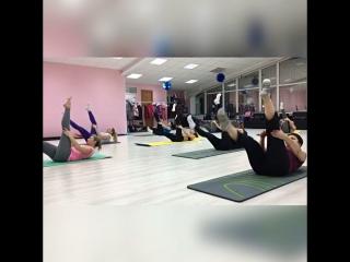 "Pilates в студии фитнеса ""Heavy Candy"""