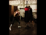 Millie Bobby Brown on traning 17.06.17