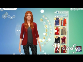 Делаем Диппера и Венди в Sims 4