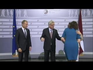 Председатель Европейского Союза в запое...