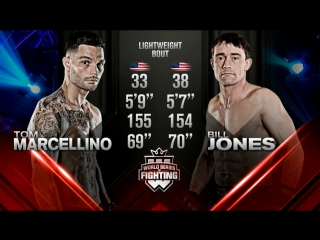 Tommy Marcellino vs. Bill Jones