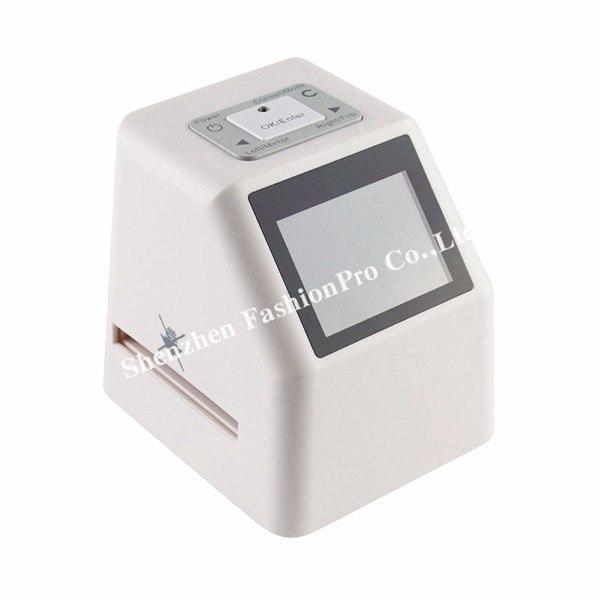 Портативный сканер фотопленки Поддерживает форматы 35 мм 110 126 и Супер 8 Имеет 24 дисплей для предпросмотра скана опти