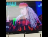 CLIP San E watch Hyoyeon perfomance and sing his part