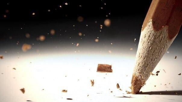 Мы все как карандаши . Каждый рисует свою судьбу. Кто-то ломается, кто