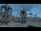 Fallout 4 Либерти Против- Эпичная Битва Двух Гигантов.