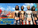 Fallout 4 Одежда 'EasyGirl' HN66s EasyGirl Outfits for CBBE Bodyslide