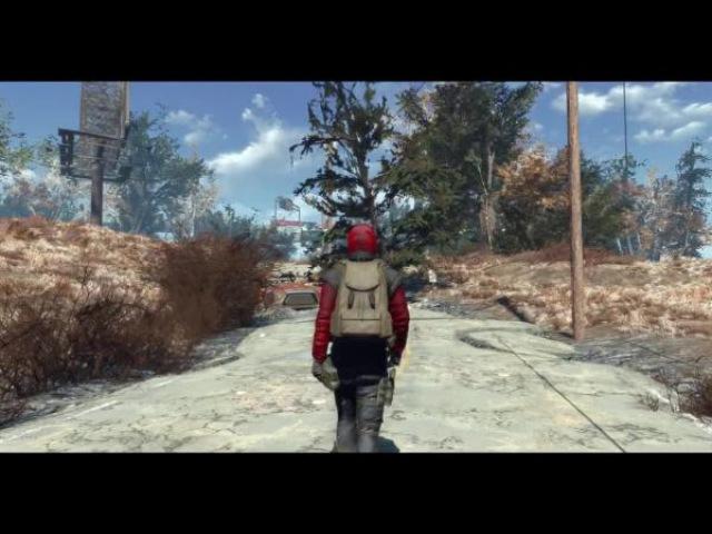 Fallout 4 Хвойные деревья Содружества - Перерождение / Commonwealth Conifers Redux