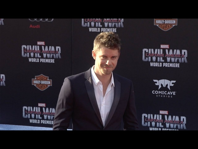 Luke Mitchell Captain America Civil War World Premiere Red Carpet Fashion Broll