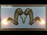 Marco Polo Sheep - Gunpowder Artwork - Danny Shervin