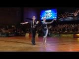 Armen Tsaturyan & Svetlana Gudyno   Cha-cha-cha   2015 GrandSlam LAT Stuttgart