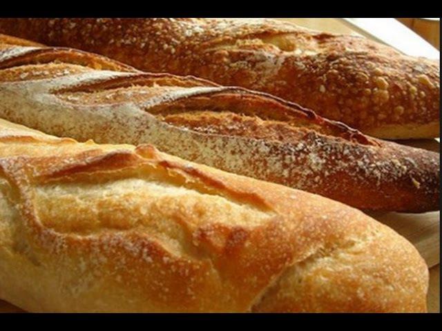 Французский Богет Домашняя выпечка