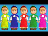 Учим английский вместе с Машей - Развивающее видео для детей