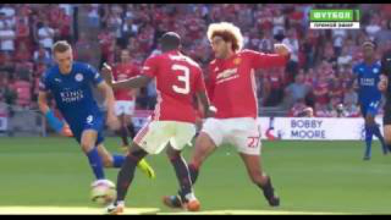 Leicester Vs Manchester United 1-2 - All Goals Match Highlights - August 7 2016 - Community Shield